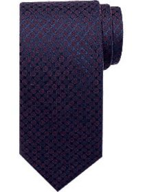 Awearness Kenneth Cole Purple Check Narrow Tie