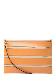 Rebecca Minkoff Cage Leather Clutch