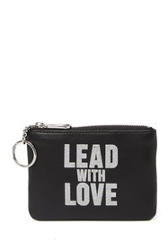 Rebecca Minkoff Betty Lead With Love Leather Zip P