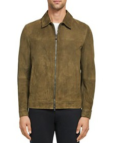Theory - Roscoe Suede Regular Fit Jacket