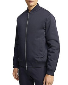 Theory - James Nova Regular Fit Bomber Jacket