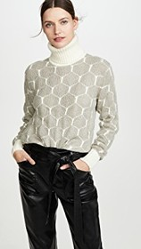 See by Chloe Honeycomb Pullover