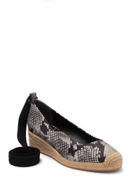 Tory Burch Heather Ankle Wrap Espadrille Wedge