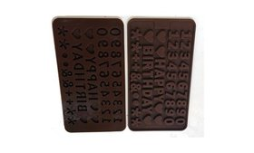 2 Pack Silicone Alphabet Number Happy Birth day Fo