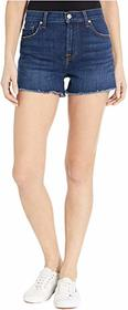 7 For All Mankind High-Waist Shorts in Fletcher Dr