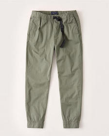 Utility Joggers, OLIVE GREEN