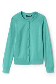 Lands End Girls Cardigan Sweater