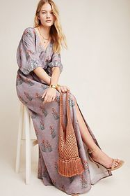 Anthropologie Sachin & Babi Isolde Sequined Maxi D