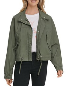 DKNY - Cropped Hooded Coat