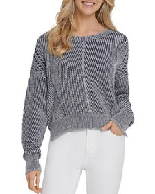 DKNY - Ribbed Dropped-Shoulder Sweater