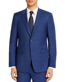 Theory - Chambers Plaid Slim Fit Suit Jacket