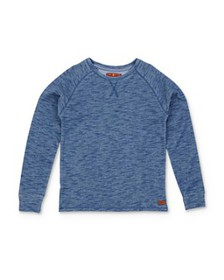 7 For All Mankind - Boys' Long Sleeve Space-Dye Te