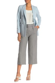 REISS Mollie Patterned Belted Culotte
