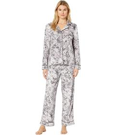 Donna Karan Stretch Velour Pajama Set