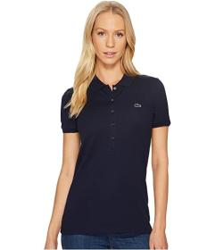 Lacoste Short Sleeve Slim Fit Stretch Pique Polo S