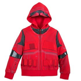 Disney Sith Trooper Zip-Up Hoodie for Boys – Star