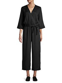 JONES NEW YORK Quarter-Sleeve Faux Wrap Jumpsuit B