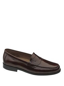 Johnston & Murphy Pannell Leather Penny Loafers BU