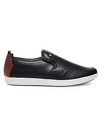 Madden M-Felixx Perforated Slip-On Sneakers BLACK