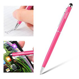 Insten 2in1 Capacitive Touch Screen Stylus with Ba