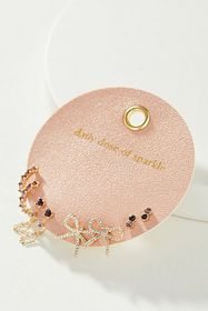 Anthropologie Daily Dose of Sparkle Earring Set