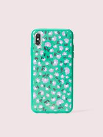 jeweled party floral iphone xs max case