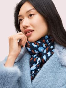 party floral oblong scarf