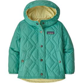 Patagonia Reversible Diamond Quilt Hooded Jacket -