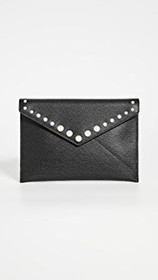 Rebecca Minkoff Leo Clutch with Imitation Pearl St