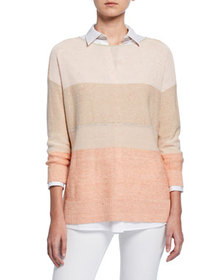 Lafayette 148 New York Chain Embellished Colorbloc