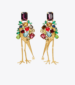 Tory Burch articulated stone earring main