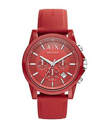 Armani Exchange AX1328 Nylon and Silicone Watch RE
