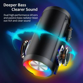 Bluetooth Speaker Portable Wireless 360 Sound and