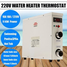 11KW 220V Electric Tankless Water Heater Thermosta