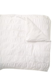 Nordstrom Rack Ruched Stripe Duvet Cover - Twin
