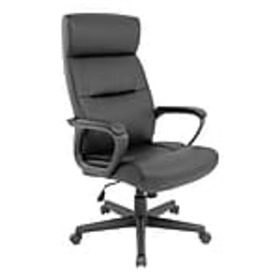 Staples Rutherford Luxura Manager Chair, Black (45