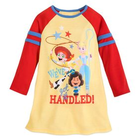 Disney Toy Story 4 Long Sleeve Nightshirt for Girl