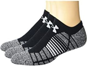 Under Armour Elevated Performance No Show Socks 3-