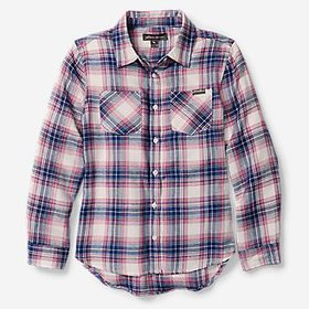 Girls' Stine's Favorite Flannel Shirt - Plaid