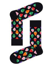 Happy Socks - Strawberry Crew Socks