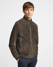 Bomber Jacket in Suede