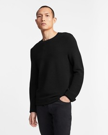 Crewneck Sweater in Washable Merino Wool