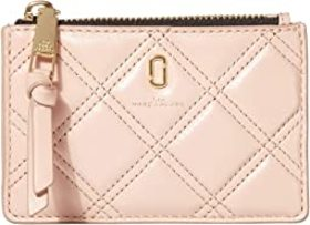 Marc Jacobs The Quilted Softshot Top Zip Multi Wal