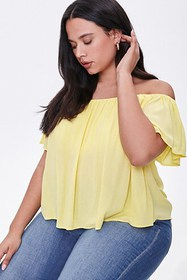 Forever21 Plus Size Off-the-Shoulder Top