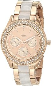 Fossil Stella Multifunction Stainless Steel and Ac