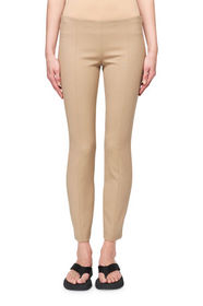 THE ROW Kosso Seamed Stretch-Wool Leggings