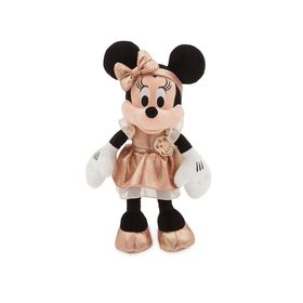 Disney Minnie Mouse Plush – Rose Gold - Small – 12