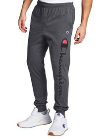 Champion Men's Classic Jersey Jogger Pants, up to