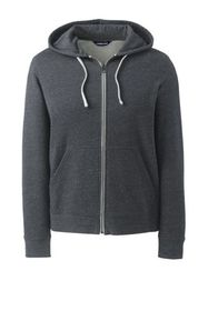 Lands End Men's Brushed Fleece Hoodie