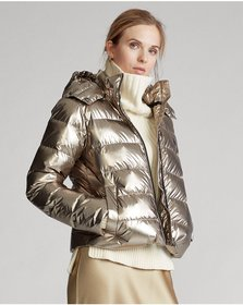 Ralph Lauren Metallic Down Jacket